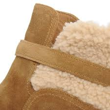ugg s anais shoes chestnut anais sheepskin ankle boots in chestnut