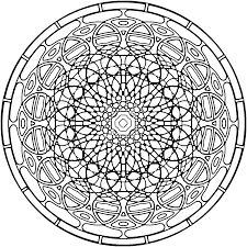 25 kaleidoscope coloring pages coloringstar