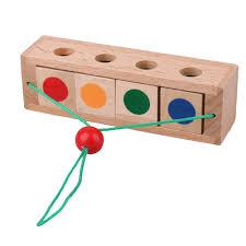 Wood Toys For Children Educational Montessori Brain Tease Toy