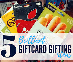 food gift cards 5 genius gift card giving ideas pincher