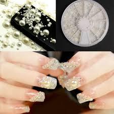 aliexpress com buy diy 3d fashion nail art white pearl