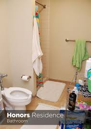 College Coed Bathrooms University Housing Virtual Tour Honors Residence