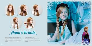 anna from frozen hairstyle step by step directions for frozen inspired hairdos ajc