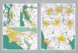 San Diego State Map by The National Atlas Of The United States Of America Perry