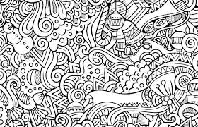10 free printable holiday coloring pages