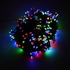 rgb 100 led christmas string light outdoor decoration fairy sales