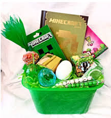 pre filled easter baskets 2015 pre filled minecraft easter basket gift