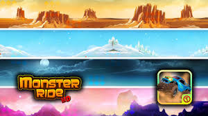 monster ride hd free games android apps on google play