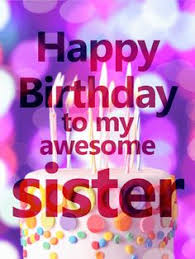 birthday cards for sister facebook happy birthday sister scraps
