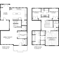 Victorian Floor Plan by Astoria 2314 Sq Ft Pacesetter Homes