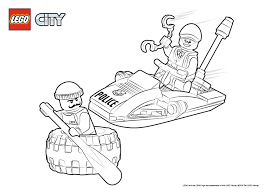 tire escape colouring page lego city activities city lego com