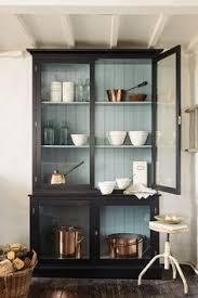 farmhouse hutch in black finish china cabinets china and barn wood