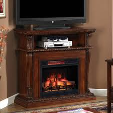 media console with electric fireplace binhminh decoration