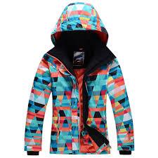 Free Shopping Winter 30 Warm Ski Suit Sets Women Skiing Jacket