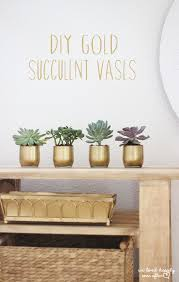 Gold Centerpiece Vases We Lived Happily Ever Afterdiy Gold Succulent Vases For Just 6