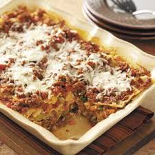 Meat Lasagna Recipe With Cottage Cheese by Ricotta And Cottage Cheese Taste Of Home