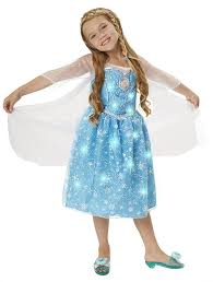 frozen costume disney frozen elsa musical light up dress toys