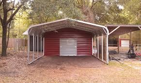 Garage With Carport Metal Carport Garage Ideas Metal Carport Garage Design