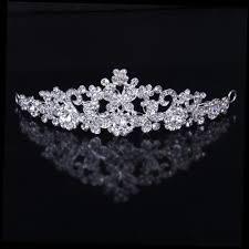 rhinestone hair rhinestone bridal crown wedding party bridesmaid diamond