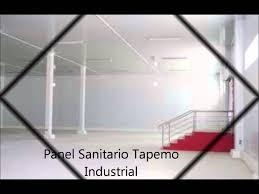 panel sanitario tapemo industrial youtube