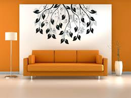 Wall Decorations Living Room by Articles With Orange Wall Decor Tag Orange Wall Decor