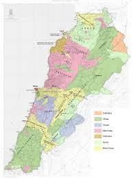 Lebanon World Map by December 2007