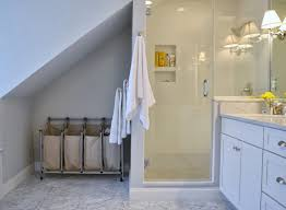 wall laundry hamper all sorts of ricci our master bathroom