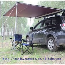 Vehicle Awning New 3m X 3m 4wd 4x4 Side Car Pull Out Awning Camper Trailer