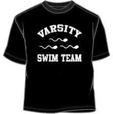 varsity swim team t shirt novelty t shirt college humor t shirt
