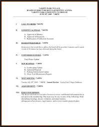 agenda templates word example mughals