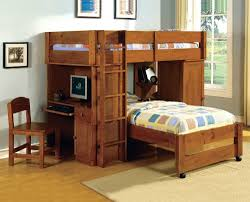 Bunk Bed With Crib On Bottom by Loft Bed Desk Ideas Med Art Home Design Posters