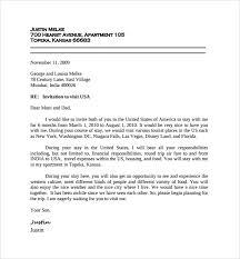 Wedding Invitation Letter For Us Visitor Visa gallery of sle invitation letter for us visa 9 free