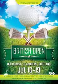 golf tournament flyer templates flyer template golf and brochures