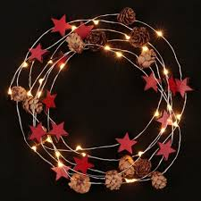 battery operated mini christmas lights philips 30ct christmas battery operated led mini pinecones and red