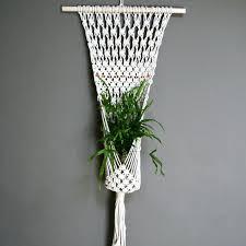 Hanging Flower Pot Hooks 80 Best Macrame Plantenhangers Images On Pinterest Macrame Plant