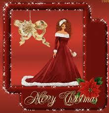 mega greeting cards glitter christmas card animated
