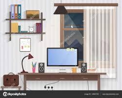 chambre de travail chambre adolescent mâle avec le milieu de travail l homme moderne