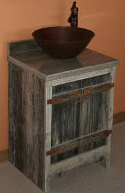 Barn Board Bathroom Vanity Barn Wood Weathered Gray Vessel Vanity U2014 Barn Wood Furniture