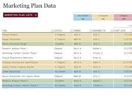 Strategic Planning Template Excel Marketing Strategy Template Vnzgames