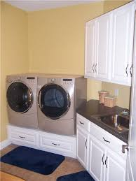 washer and dryer cabinets custom laundry room cabinet storage solutions ds woods custom washer