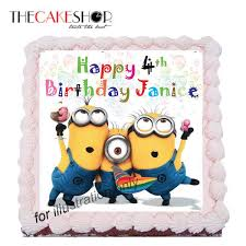 Minions Birthday Cake Delivery Singapore