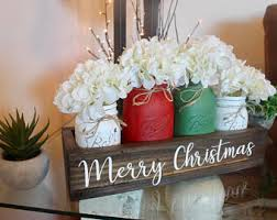 Rustic Christmas Centerpieces - christmas table decor christmas centerpiece christmas