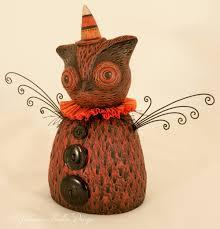 halloween figurines lori mitchell iva wilcox iva s creations iva wilcox folk art inspired by 17