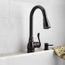 oiled rubbed bronze kitchen faucets moen brantford oil rubbed bronze kitchen faucet hum home review