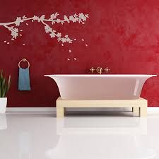 tree forest wall stickers large forest wall decor sakura tree blossom wall stick
