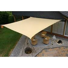 Cool Shade Awnings Sun Sail Shade Square Canopy Cover Outdoor Patio Awning 10