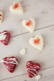 cherry flavored white chocolate hearts recipe