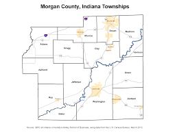 Morgan State University Map by Township Maps Stats Indiana