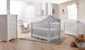 Nursery Furniture Sets Baby Crib With Upholstered Headboard Baby Crib Design Inspiration