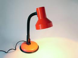 Red Desk Light Vintage Red Black Italian Desk Lamp Gooseneck Lamp Veneta Lumi